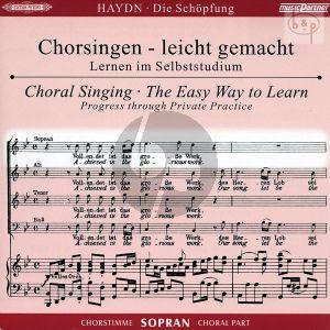 Die Schopfung Hob.XXI:2 CD Sopran Chorstimme