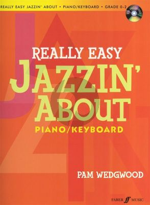 Wedgwood Really Easy Jazzin About (Bk-Cd)