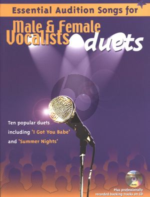Essential Audition Songs Duets Male-Female Voices (Bk-Cd)