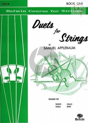 Duets for Strings Vol.1 (2 Violins)
