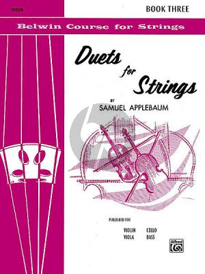 Duets for Strings Vol.3 (2 Violins)