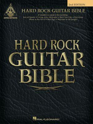 Hard Rock Guitar Bible Guitar Recorded Versions (2nd. ed.)