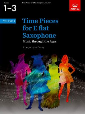 Time Pieces Vol. 1 Alto Saxophone and Piano (edited by Ian Denley)
