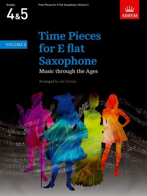 Time Pieces Vol. 2 for Alto or Baritone Saxophone and Piano (edited by Ian Denley)