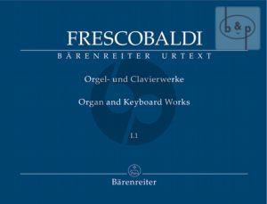 Orgel und Clavierwerke Vol.1.1