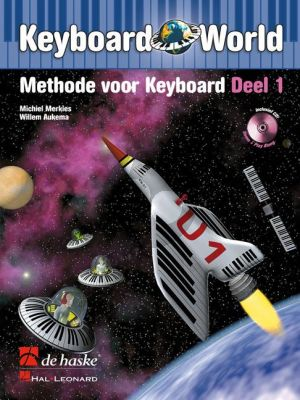 Merkies Keyboard World Vol.1 (Methode voor Keyboard) (Bk-Cd)