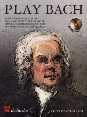 Play Bach for Clarinet (Bk-Cd) (arr. by Wim Stalman) (grade 4 - 5)