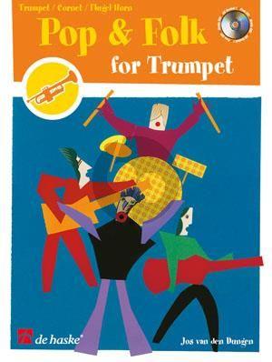 Dungen Pop & Folk for Trumpet (Bk-Cd) (easy-interm.)