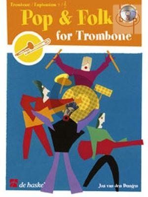 Dungen Pop & Folk for Trombone [Euphonium] [TC/BC] (Bk-Cd)