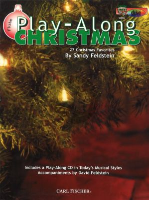Christmas Playalong (27 Favorites) (Flute) (Bk-Cd) (Feldstein)