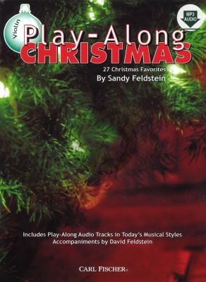Christmas Playalong (27 Favorites) (Violin) (Bk-Cd) (Feldstein)