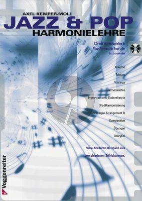 Kemper-Moll Jazz und Pop Harmonielehre (Bk-Cd)