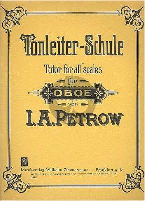 Petrow Tonleiterschule für Oboe