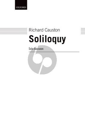 Causton Soliloquy for Bassoon solo (1995)