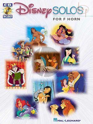 Disney Solos for F-Horn