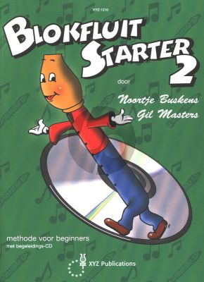 Buskens-Masters Blokfluit Starter Vol.2 (Methode voor Beginners) (Bk-Cd)