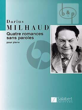 4 Romances sans paroles Op.129