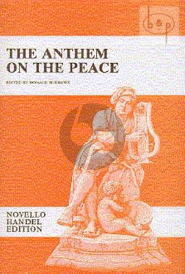 The Anthem on the Peace (SAA[SAATB] soli-SATB- Orch.)