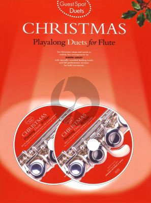 Guest Spot Christmas Duets for Flute (Bk- 2 Cd's)