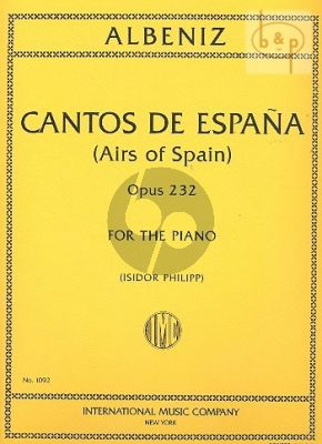 Cantos de Espana Op.232 for Piano