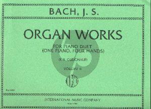 Bach Organworks Vol.2 Piano 4 hds (transcr. F.X. Gleichauf)