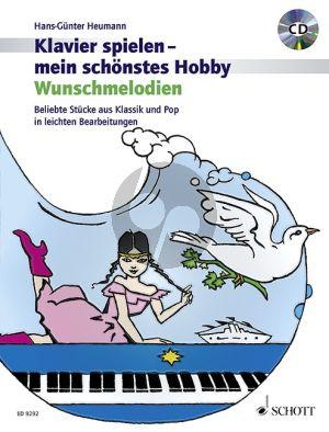 Heumann Klavierspielen mein schonstes Hobby Wunschmelodien (Bk-Cd)
