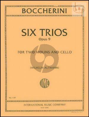 6 Trios Op.9 (2 Vi.-Vc.)
