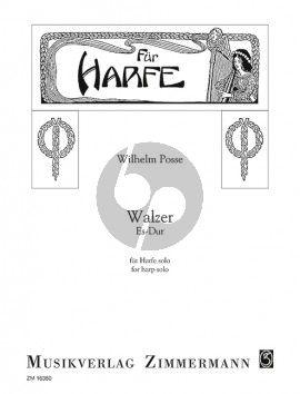 Walzer No.2 Es-Dur Harfe