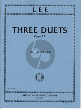 3 Duets Op. 37 2 Cellos