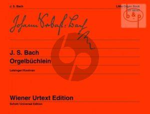 Orgelbuchlein (BWV 599 - 644)