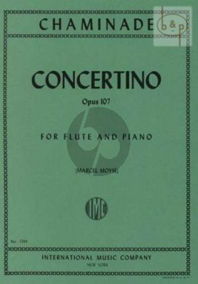 Chaminade Concertino Op.107 Flute-Piano