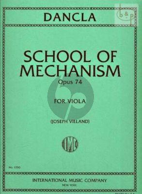 Dancla School of Mecanism Op.74 Viola (Vieland)