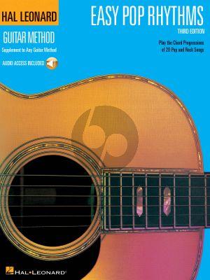 Easy Pop Rhythms (Hal Leonard Guitar Method) (Book with Audio online)