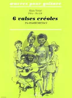 Verite 6 Valses Creoles pour Guitare