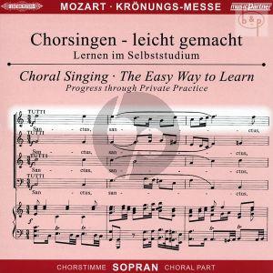 Missa C-dur KV 317 (Kronungs-Messe) (Soli-Chor-Orch.) (Sopran Chorstimme)