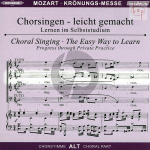 Missa C-dur KV 317 (Kronungs-Messe) (Soli-Chor-Orch.) (Alt Chorstimme)