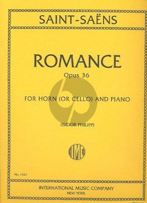 Saint-Saens Romance Op.36 (Horn (or Violoncello)-Piano
