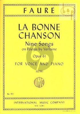 Bonne Chanson opus 61