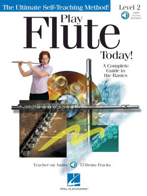 Play Flute Today! Level 2 (Book with Audio online)