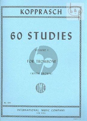 60 Studies for Trombone Vol.1