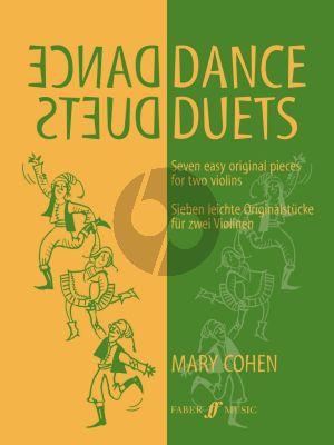 Cohen Dance Duets for 2 Violins (7 Easy Original Pieces) (Grades 2 - 3)