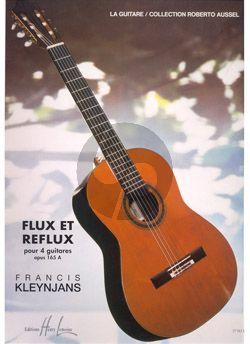 Kleynjans Flux et Reflux Op.165A pour 4 Guitares