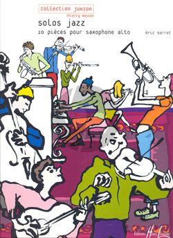 Barret Solos Jazz Saxophone Alto seule (10 Pieces Faciles) (interm.)