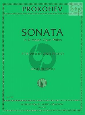 Sonata D-major Op.94bis