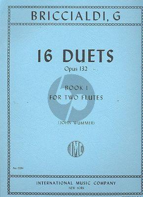 Briccialdi 16 Duets Op.132 Vol.1 2 Flutes (John Wummer)