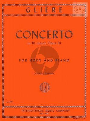 Concerto Op.91 B-flat major Horn-Piano