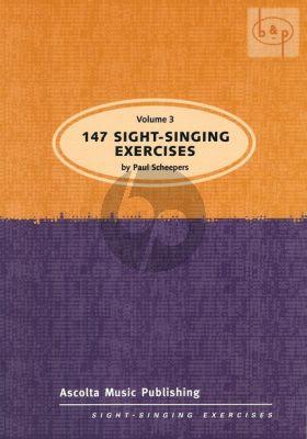 147 Sight Singing Exercises Vol.3
