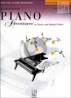 Accelerated Piano Adventures for the Older Beginner Performance Book 2