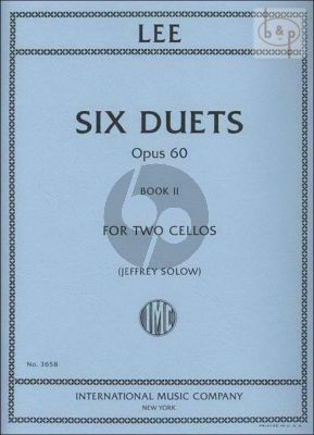 6 Duets Op. 60 Vol. 2 2 Cellos
