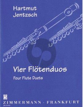 Jentzsch 4 Flötenduos (Stimmen)